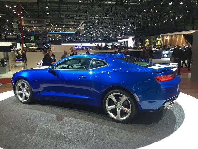 Chevrolet Camaro: à l'ancienne - Vidéo en direct du salon de Genève 2016