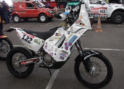 Dakar 2012 : Eric Palante, un Belge sur les traces du peuple Inca