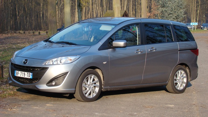Essai - Mazda 5 diesel : remplit (tristement) son office
