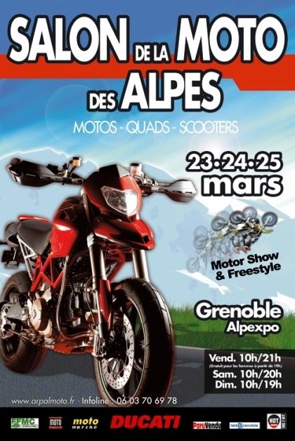 Salon de la moto des Alpes