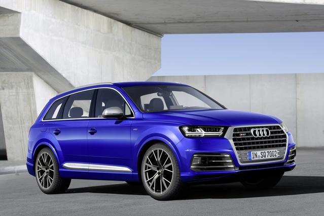 Audi dévoile le SQ7
