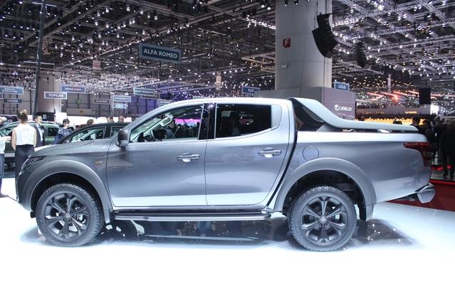 Fiat Fullback Concept : première - En direct du salon de Genève 2016
