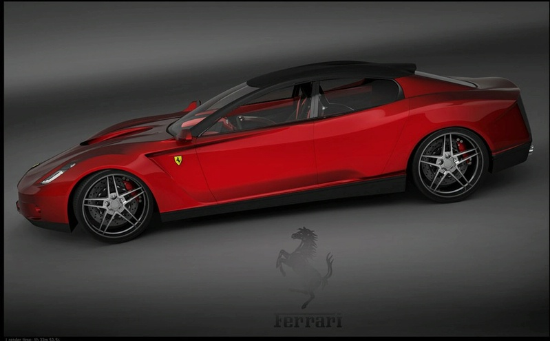 ferrari 4 portes a donnerait quoi. Black Bedroom Furniture Sets. Home Design Ideas