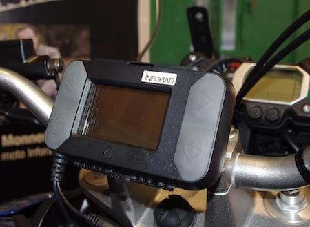 """En direct du salon de la moto 2011: Inforad devient """"outil d'aide à la conduite"""""""