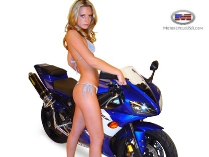 Moto & Sexy : belle enfant
