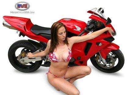 Moto & Sexy : a en tomber...