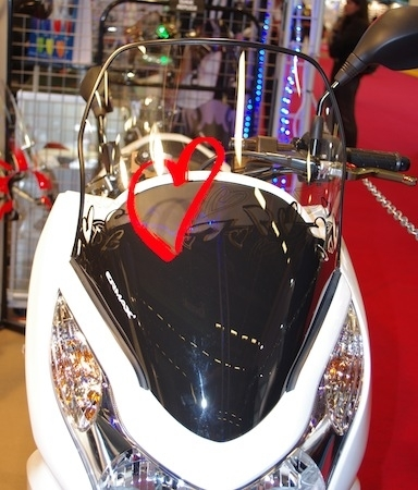 En direct du salon de la moto 2011: Ermax