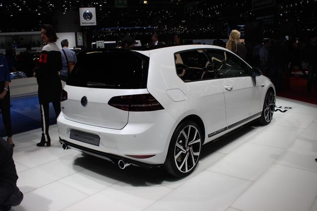 Volkswagen Golf GTI Clubsport : gros coeur - En direct du salon de Genève 2016