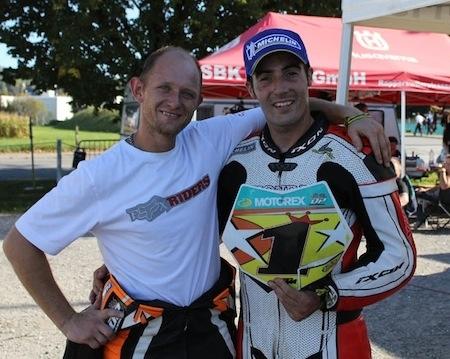 Supermotard 2010, championnat suisse: Bidart empoche le titre.