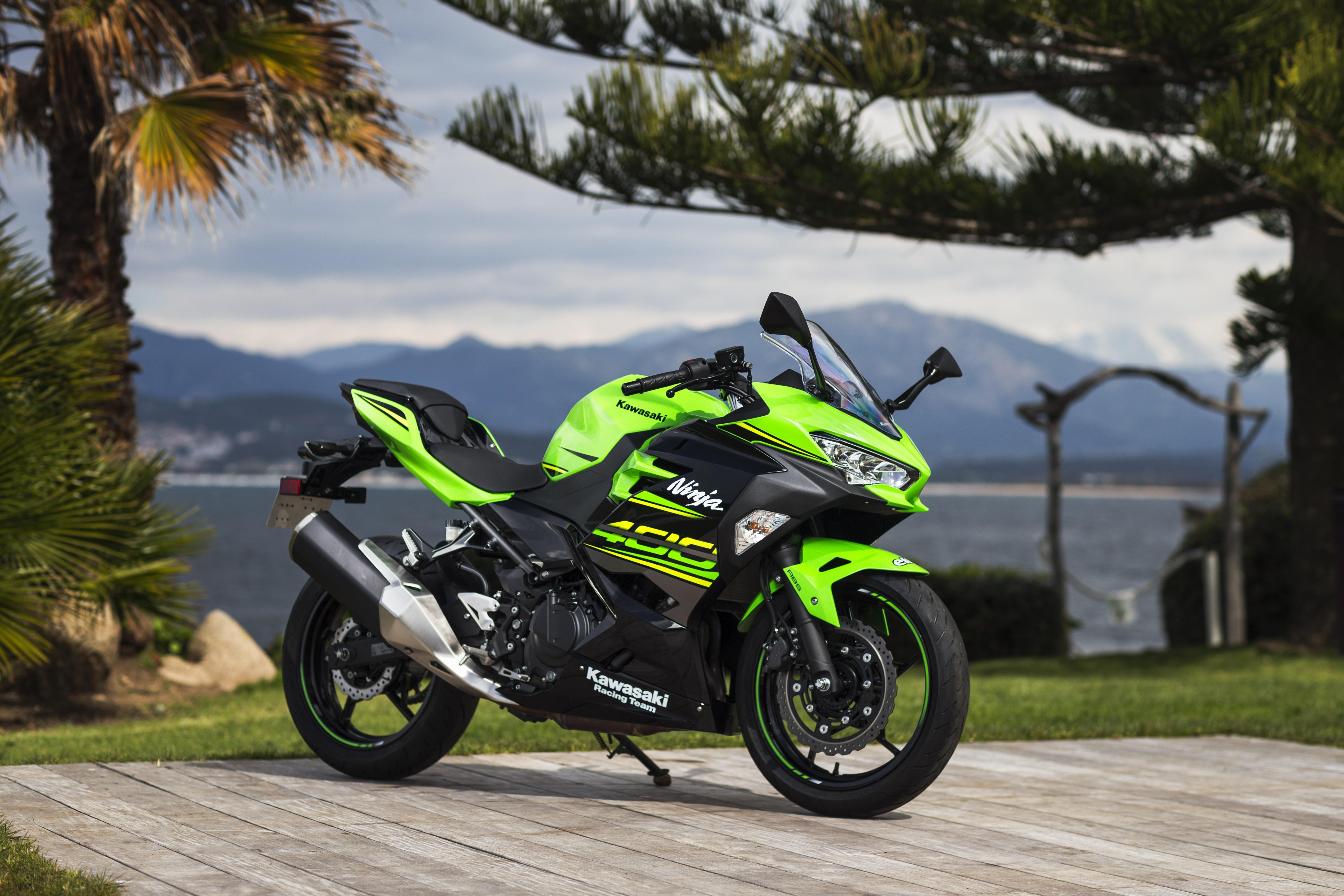 Essai Kawasaki Ninja 400 2018 Mini Bombe
