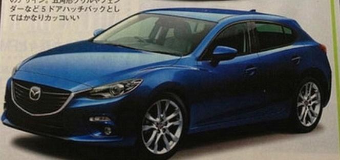Est-ce là la future Mazda 3 ?