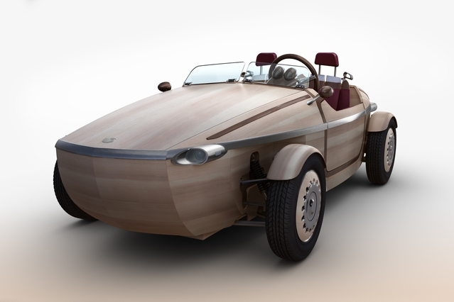 Milan Design Week 2016 : Toyota Setsuna, un concept en bois