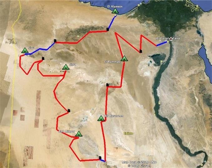 Le Rallye des Pharaons s'est élancé ce matin, la semaine en détail