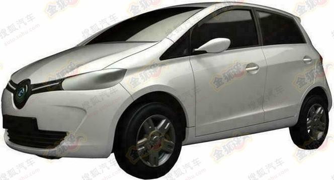 La Renault Zoé déjà copiée en Chine !