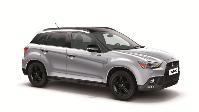 """Mitsubishi lance la série spéciale """"Sport Black"""" sur ses L200 et ASX et la reconduit sur Pajero"""