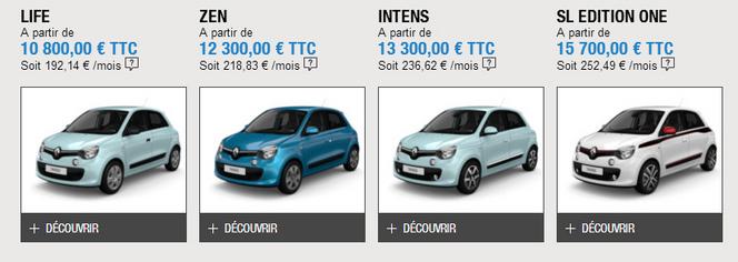 Nouvelle Renault Twingo : à partir de 10 800€ et une Edition One pour commencer