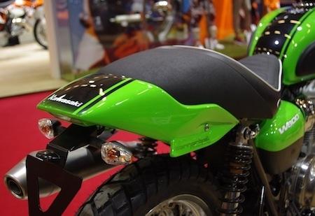En direct du salon de la moto 2011, S2 Concept: un W800 façon Gentlemen
