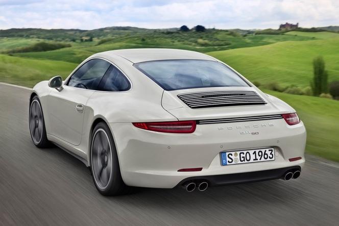 Porsche fête les 50 ans de la 911 avec une série spéciale