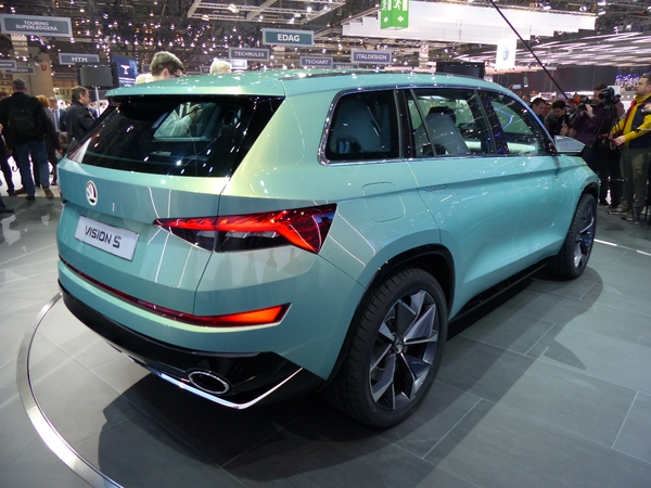 Skoda VisionS Concept : SUV cubiste - En direct du salon de Genève