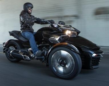 Nouveauté – Can Am: le Spyder F3 se montrera le 23 septembre