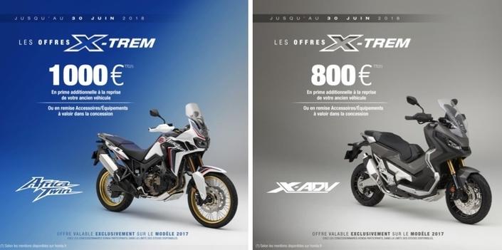 Honda: opération X-Trem sur X-ADV et Africa Twin
