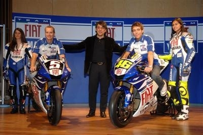 Photo du jour : Yamaha confirme le partenariat avec Fiat et révèle les nouvelles couleurs de l'écurie