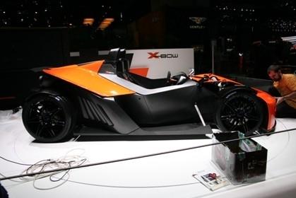 Salon de Genève 2007 : KTM dans les rangs
