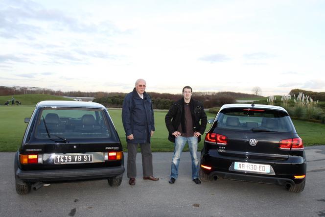 Vidéo - VW Golf GTI 1600 de 1980 vs VW Golf GTI de 2009 : c'est pourtant facile de ne pas se tromper