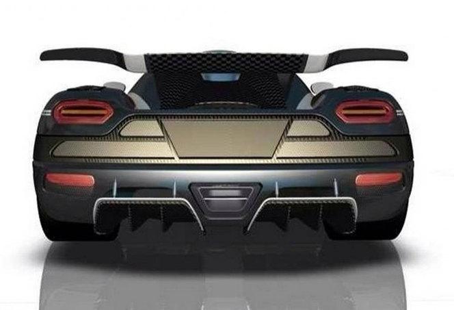 Future Koenigsegg One:1 : les premiers dessins