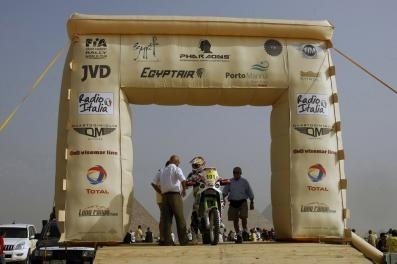 Rallye des Pharaons : 1ère étape, Lopez déjà en tête