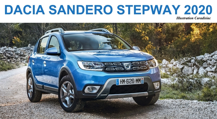 dacia sandero stepway la prochaine g n ration arrive en 2020. Black Bedroom Furniture Sets. Home Design Ideas