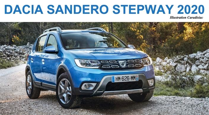 Dacia Sandero Stepway: la prochaine génération arrive en 2020