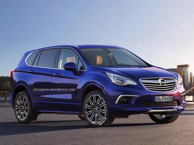 Futur Opel Antara : comme ça ?