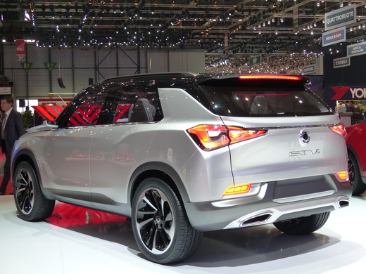 SsangYong SIV-2 Concept : hybridation légère pour 2018 - En direct du salon de Genève
