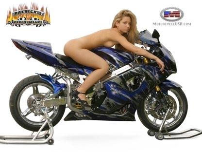 Moto & Sexy : Tenue d'Eve