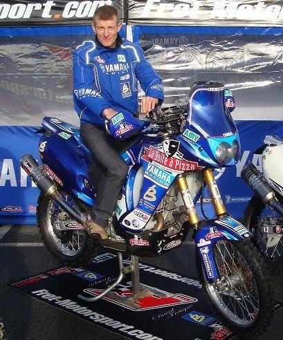 Exclusivité : la moto de David Frétigné pour le Dakar 2010