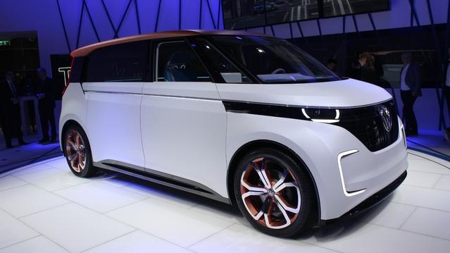 Volkswagen Budd-e Concept: prospectif - En direct du salon de Genève 2016