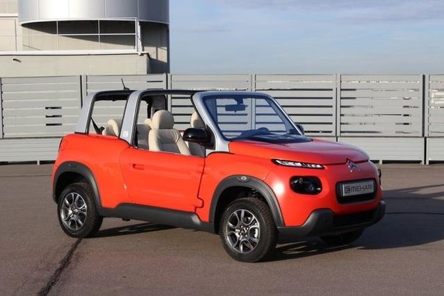 Première vidéo - Citroën e-Mehari : découvrez les premières images de l'essai