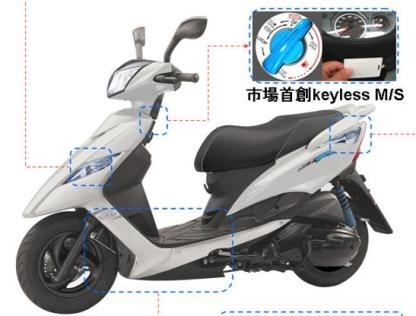 Yamaha et sa Keyless