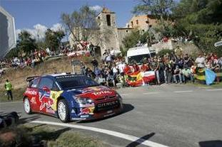 WRC Espagne Jour 2 : Loeb à sa main