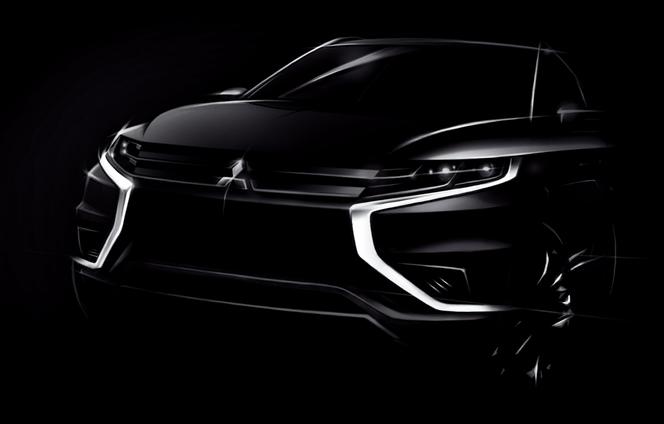 Mondial de Paris 2014 : Mitsubishi Outlander PHEV Concept-S