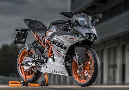 KTM RC : le Moto 3 comme source d'inspiration