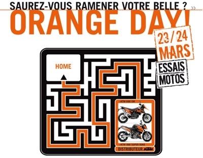 Orange Days de KTM : 23/24 mars 2007
