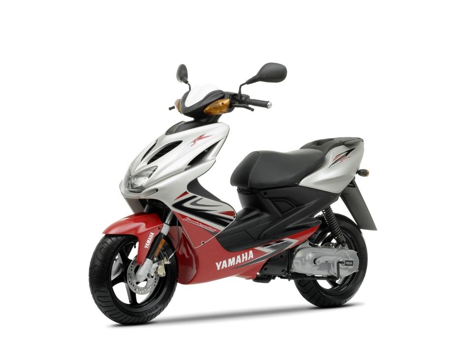 Yamaha Aerox ''R'' 50 cm3 2009 : Une touche de sportivité
