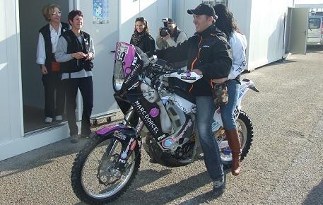 Dakar 2012 : Un embarquement pas vraiment sous X pour Hugo Payen