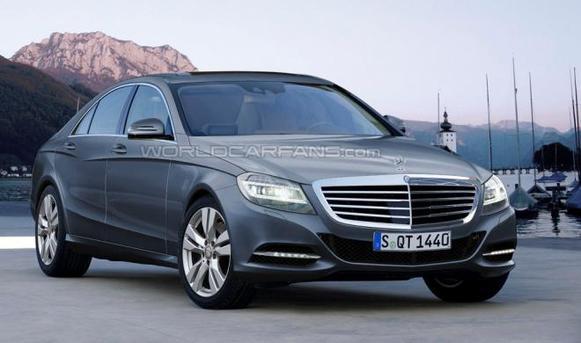 Future Mercedes Classe S: comme ça?