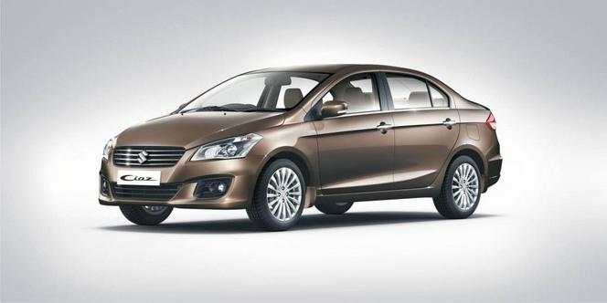 Maruti-Suzuki présente et lance la Ciaz en Inde... et en Chine