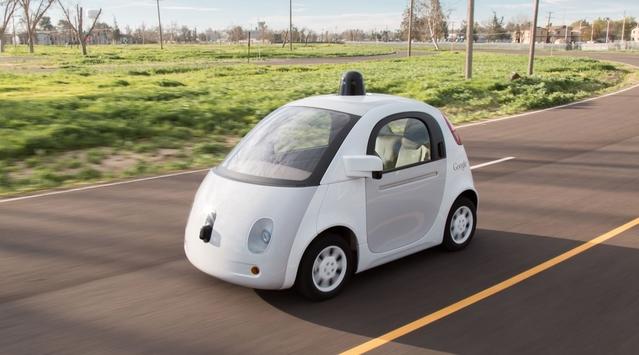 La Google Car est aidée par le gouvernement américain