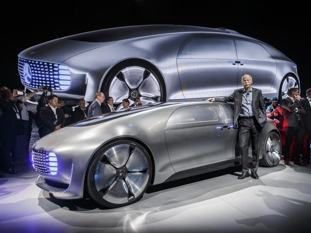 Mercedes mise énormement sur le développement de la voiture autonome