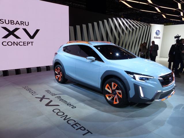 Subaru XV Concept : bientôt dans la mélée - En direct du salon de Genève